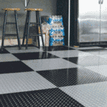 Garage Floor Tile and Mat Installation