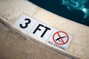 Poolside Safety Matting- Prevent Slips and Falls