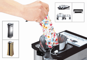 Automatic Umbrella Wrappers, Available in August on Eaglemat.com
