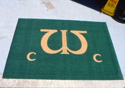 Chesapeake Turf Logo Custom Mat