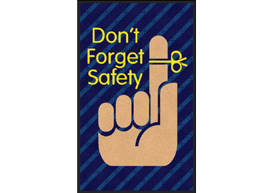 Don T Forget Safety Eagle Mat