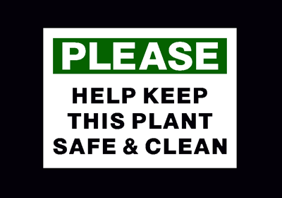 Please Help Keep This Plant Safe & Clean