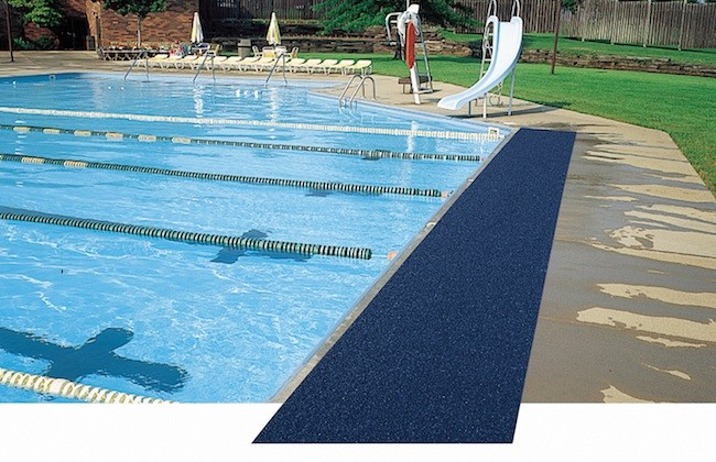 Vinyl sponge pool mat eagle mat for Garden pool mats
