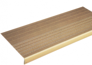 "1/8"" Ribbed Vinyl Stair Tread"