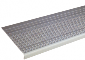 "3/16"" Ribbed Vinyl Stair Tread"