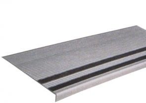 "7/32"" Vinyl Stair Tread with Grit-Strips"