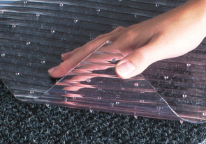 Clear Gripper Runner Mat