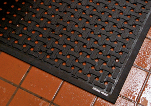 Rubber Drainage Kitchen Mat