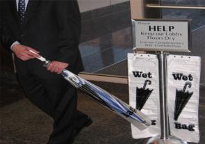 Wet Umbrella Bag Stands Holders Bases Eagle Mat