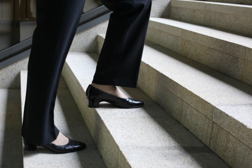 Going Down: Why Falls Are More Common While Descending Stairs