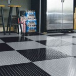 Winter Product Spotlight: Garage Tiles with Diamond Treads
