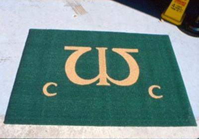 Chesapeake Turf Logo Custom Mat