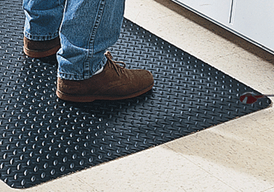 Conductive Diamond Plate Anti-Fatigue Mat