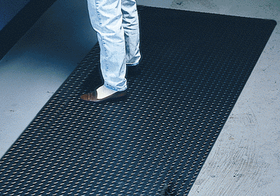 Conductive Diamond Plate Runner Mat