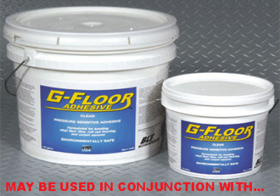 Garage Floor - Marine & Outdoor Adhesive: 4 GAL