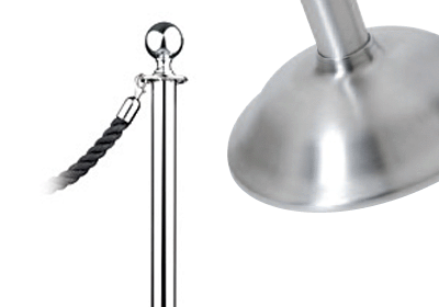 Spherical Post Stanchion - Traditional Base