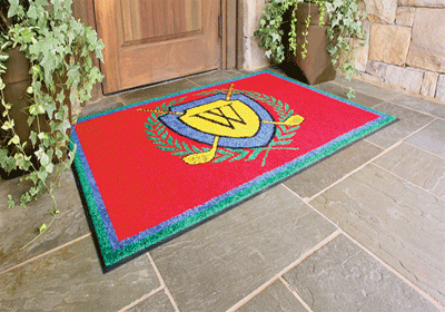 Supreme Carpet Logo Mat 2
