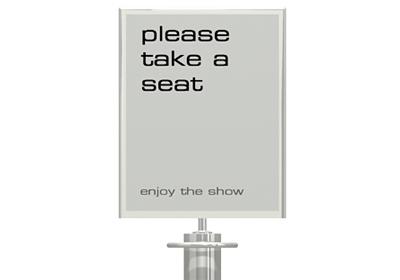 Tensabarrier Deluxe Sign Frame