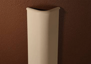 90 Degree Bullnose Textured Tape-On Corner Guard