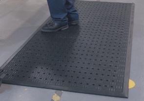 Soft Floor Drainage Kitchen Mat