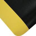 Black with yellow border